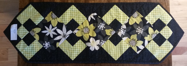 """""""Simply a Pleasure"""" Table Runner 1 by Betty Gruber"""