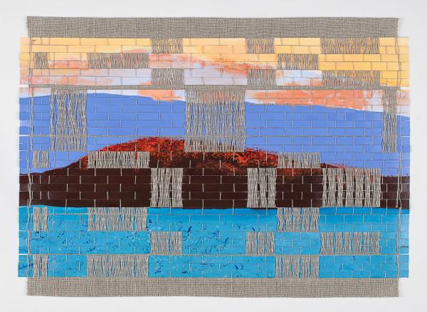 Late Afternoon Lake Mendota (Framed original) by Suzanne Gernandt