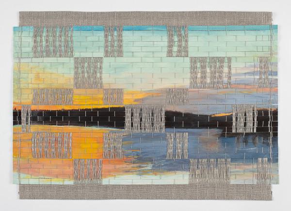 Early Morning, Lake Mendota (Framed original) by Suzanne Gernandt