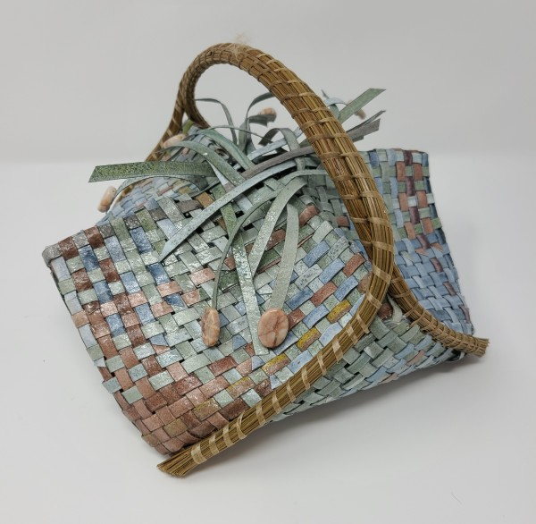 Top Handle Woven Basket by Roberta Condon