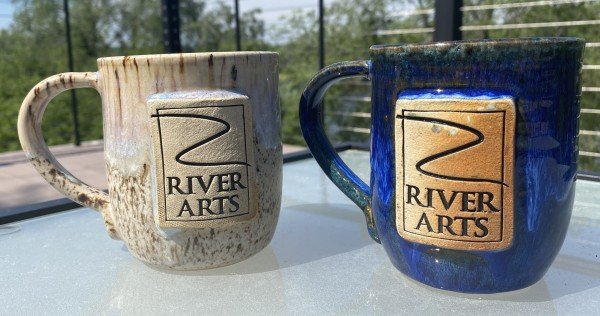 River Arts 20th Anniversary Mugs by Amber Gavin