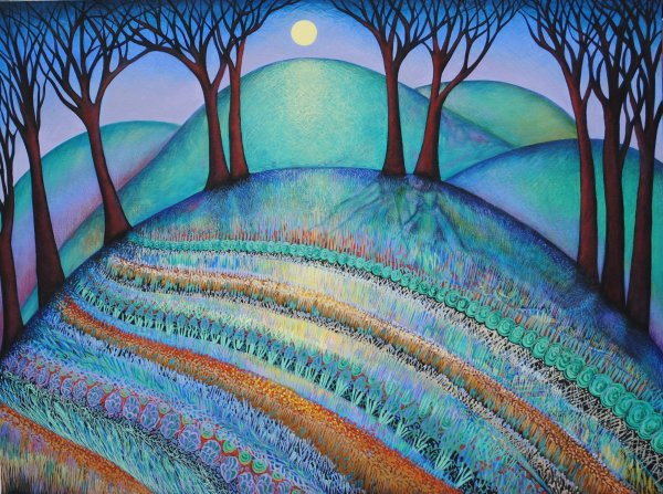 Summer Solstice (Unframed print) by Nancy Giffey