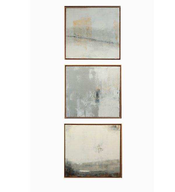 Ataraxia (Triptych) (Framed originals) by Rick Ross