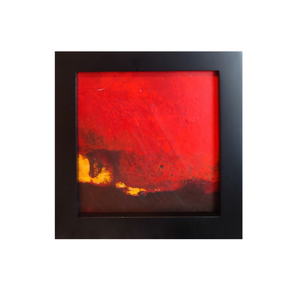 Bonfire Glow (Framed Original) by Rick Ross