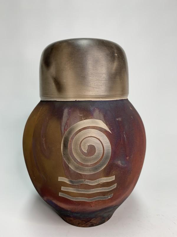 Spiral Vessel by Joe Clark