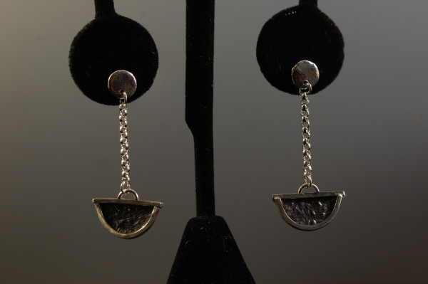 Reticulated Earrings by Susan Baez