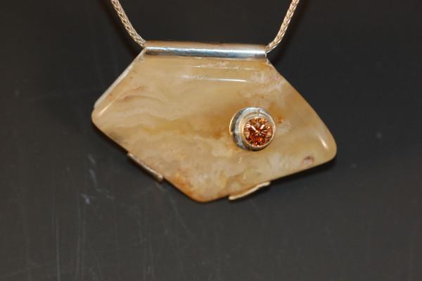 Bonded Agate Necklace by Susan Baez