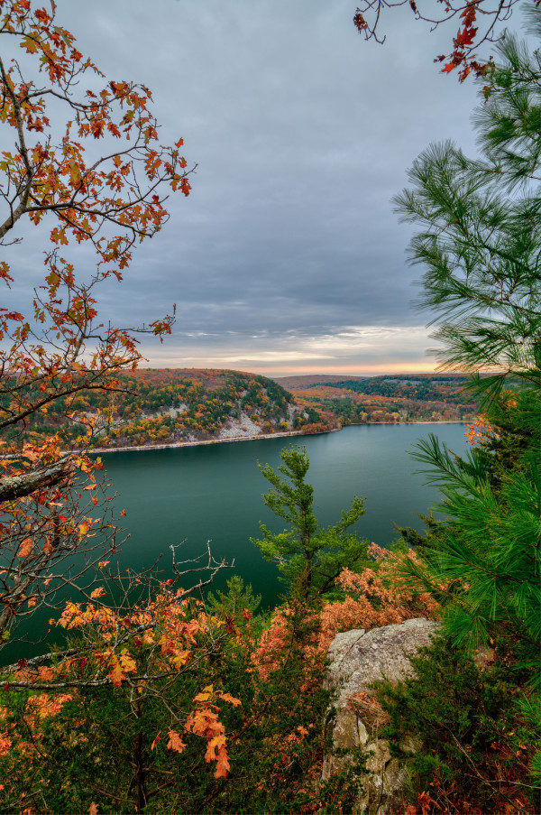Devil's Autumn (Unframed print) (vertical) by Mike Murray