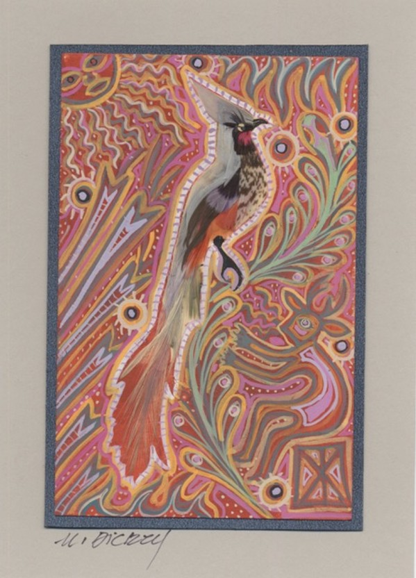 Feather Bird 29 by Mary Dickey