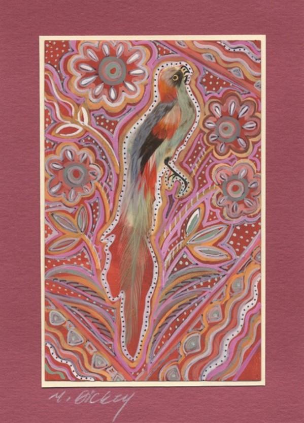 Feather Bird 30 by Mary Dickey