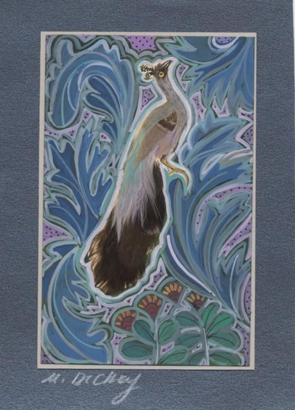 Feather Bird 32 by Mary Dickey