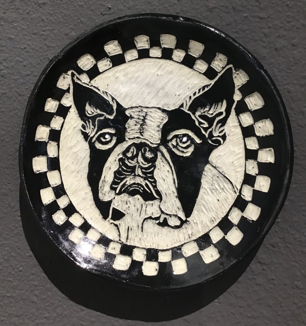 Animal Portrait Plates by Briony Foy