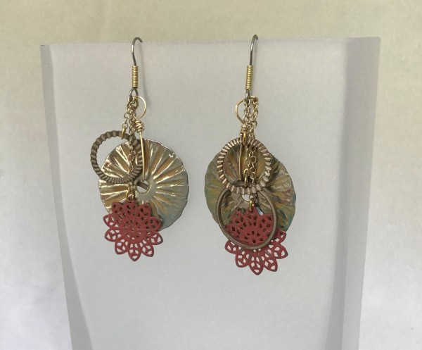 Earrings by Luann Roberts Smith