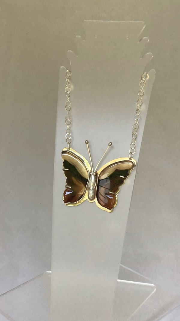 Butterfly Pendant 5 by Judi Werner