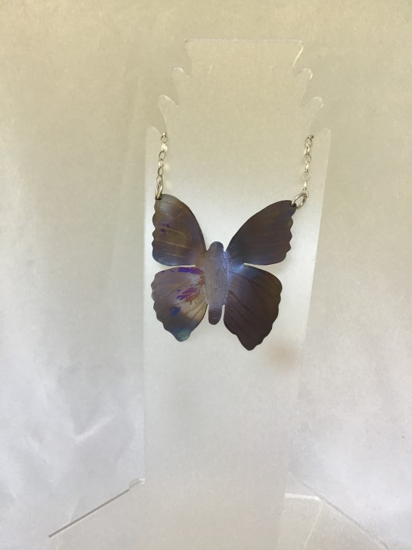 Butterfly Pendant 3 by Judi Werner