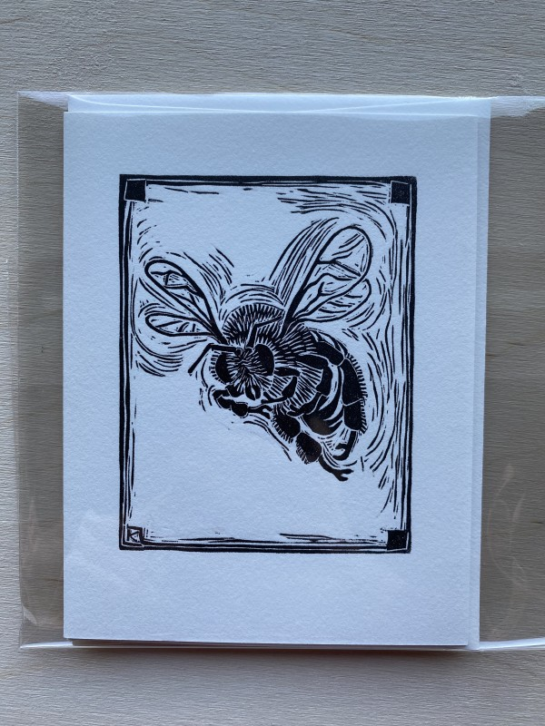 Bee cards by Linda Kelen