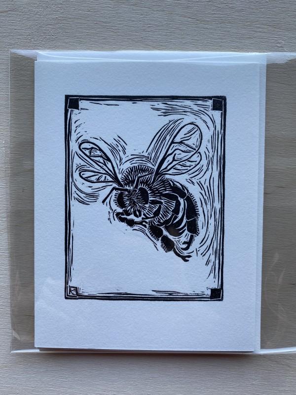 Bee cards by Linda Kelen