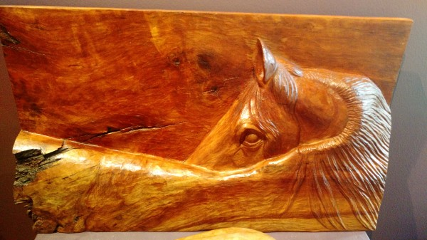 Horse in Relief #3 by Homer Daehn