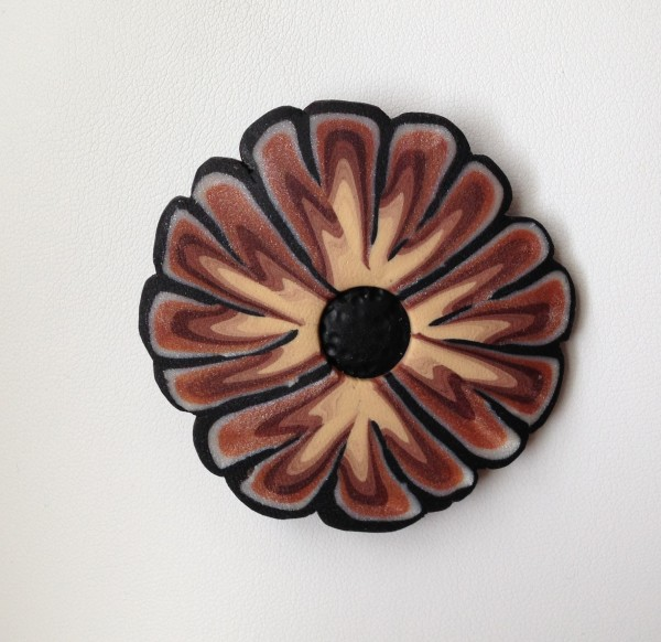 Flower (Pin or Pendant) by Charmaine Harbort
