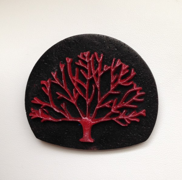 Tree of Life (Pin or Pendant) by Charmaine Harbort
