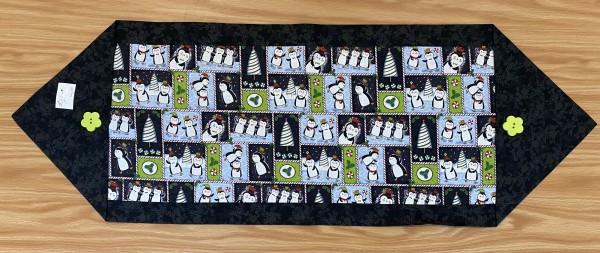 Penguin Table Runner by Betty Gruber