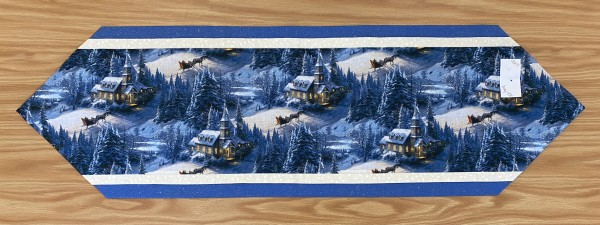 Christmas Table Runner by Betty Gruber