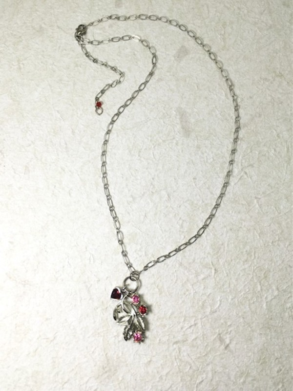 Vintage Charm Necklace by Luann Roberts Smith
