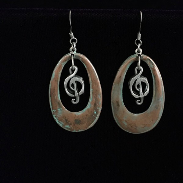 Music Earrings by Luann Roberts Smith