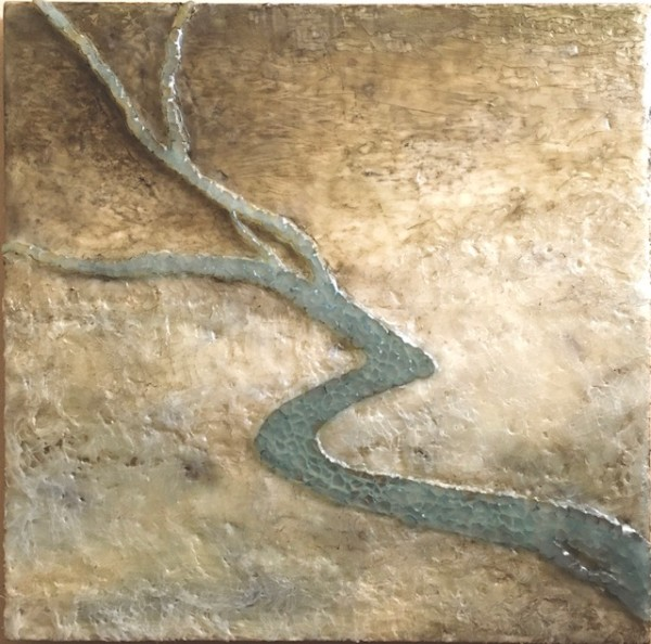Streams in the Desert (Original) by Luann Roberts Smith
