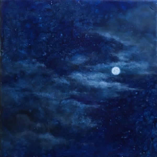 Midnight (Original) by Luann Roberts Smith