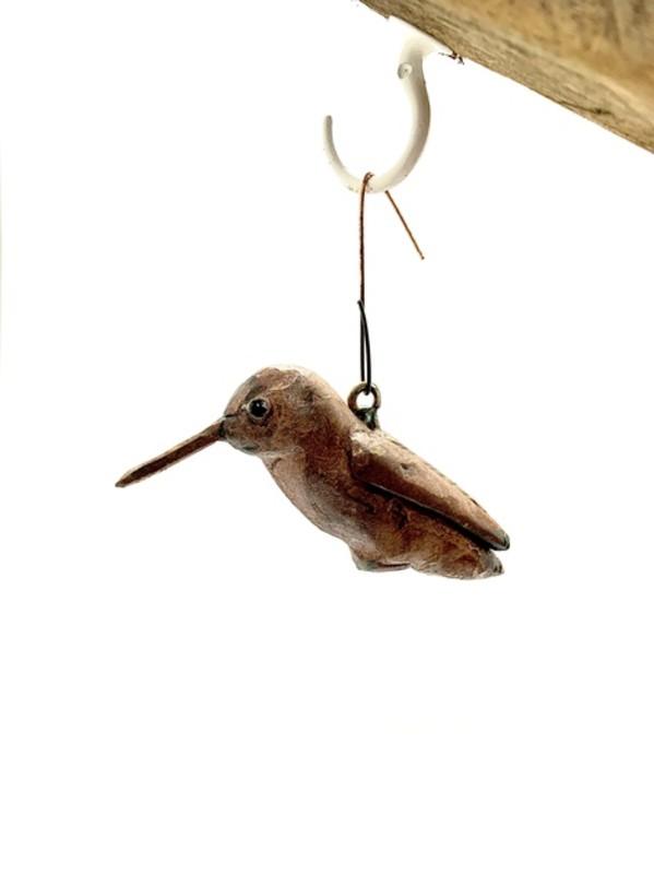 Perched Hummingbird  (Ornament) by John Pahlas