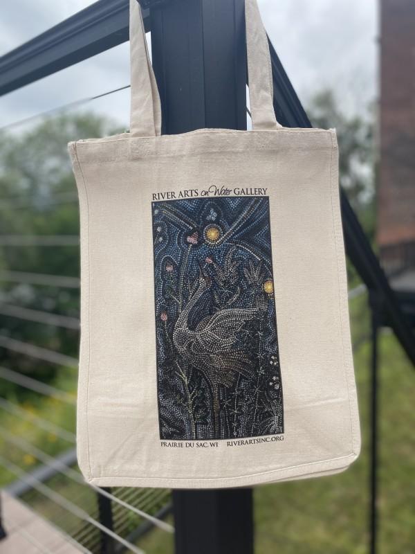 Starry Prairie Mural Tote Bag