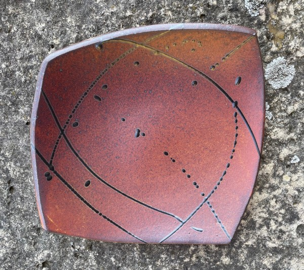 Hand Built Plate by Carol Naughton