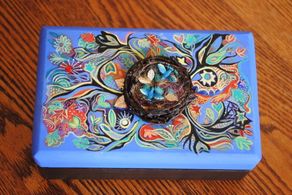 Love Nest Box by Nancy Giffey
