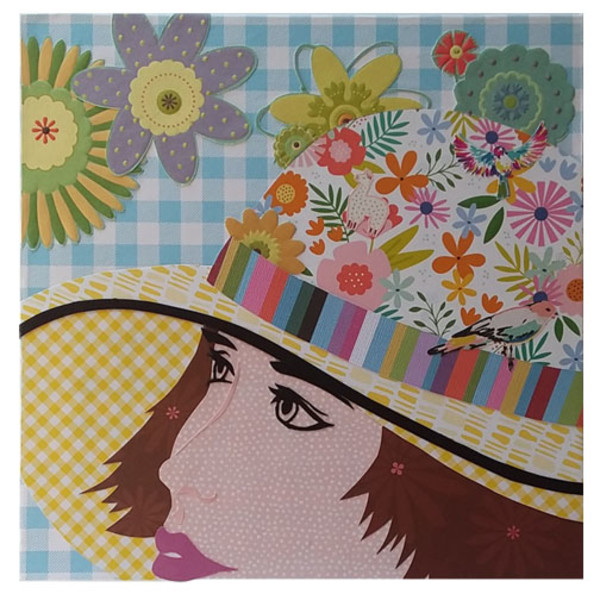 More is More: Garden Hat by Karen  Timm