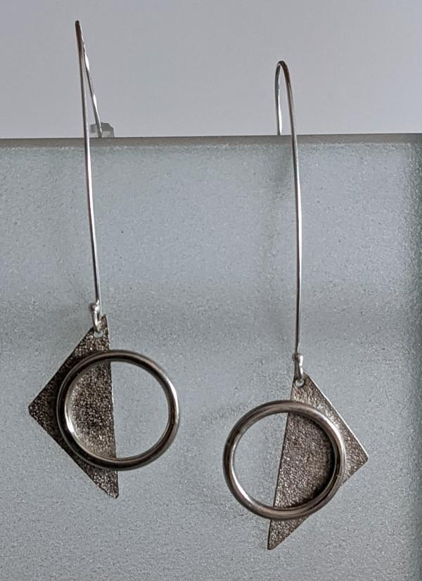 Triangle Earrings by Susan Baez