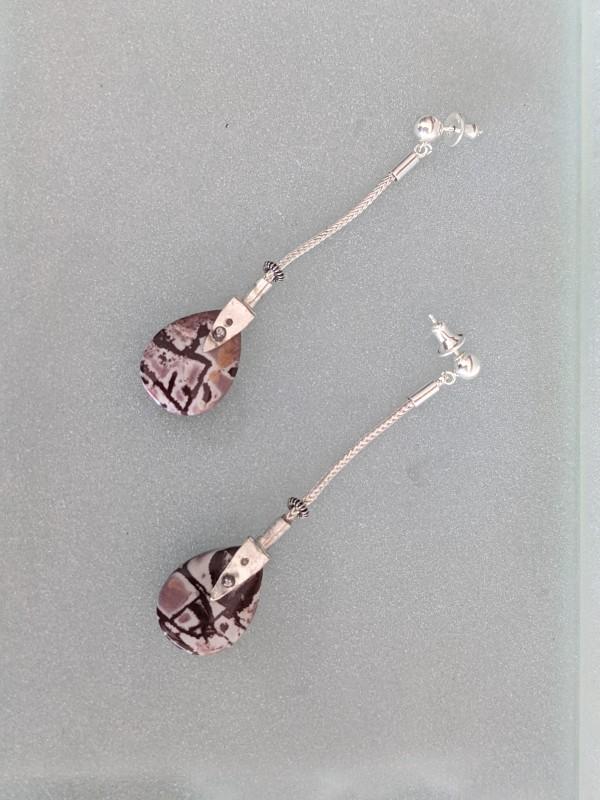 Jasper Earrings by Susan Baez