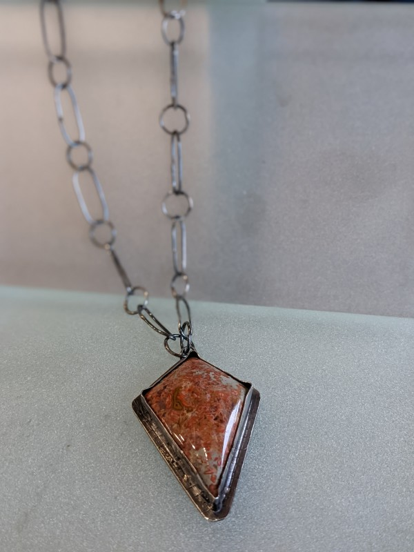 Kite-Shaped Necklace by Susan Baez