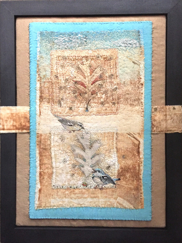 Cerulean Warblers & White Oaks by Cynthia Quinn