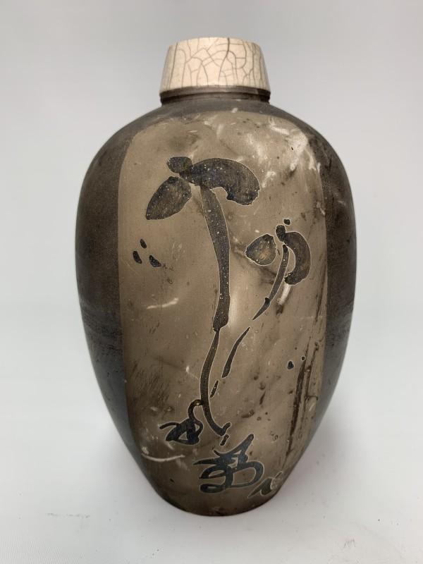 Iris Bottle by Joe Clark