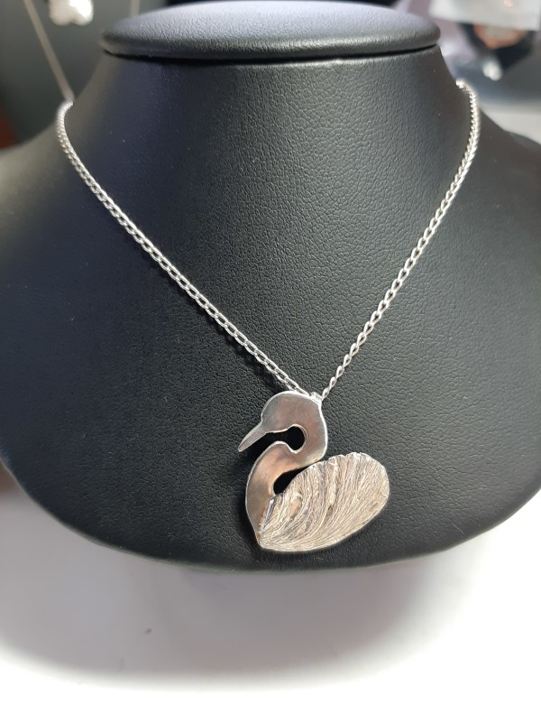 Swan Necklace by Georgia Weithe