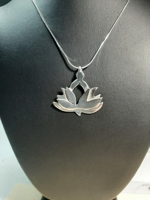 Unfolding Lotus Necklace by Georgia Weithe