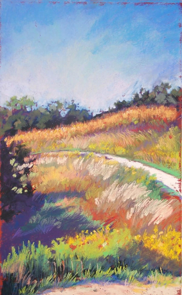 View from Spring Studio (Unframed print) by Jane Varda