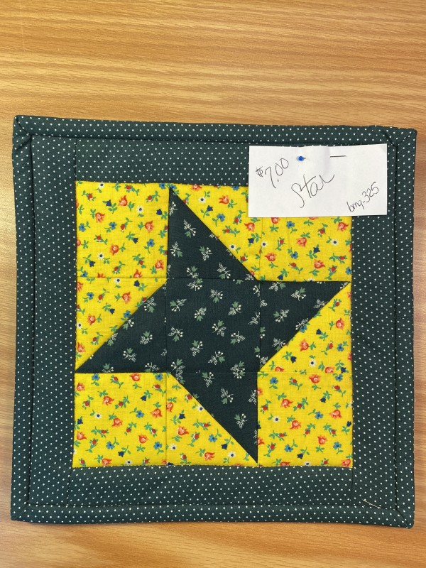 Star Pot Holder by Betty Gruber