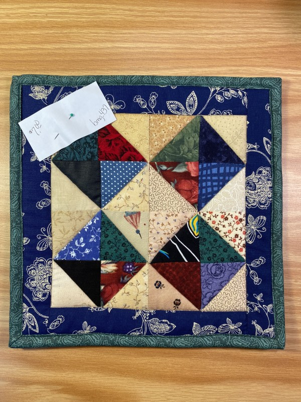 Scrap Pot Holder by Betty Gruber