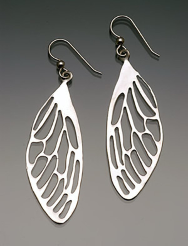 Large Dragonfly Earrings by Georgia Weithe