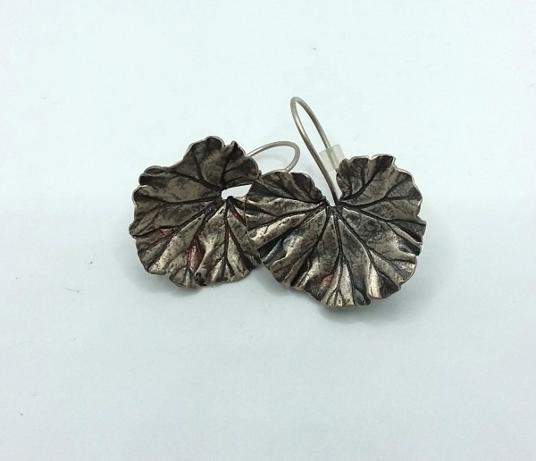 Geranium Earrings by Judi Werner