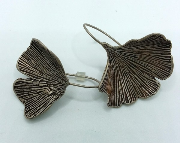 Gingko Earrings by Judi Werner