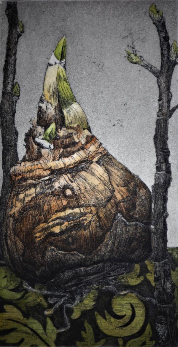 Greening (Unframed) by Julie Sutter-Blair