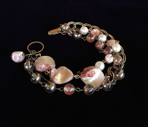 Pinks Bracelet by Luann Roberts Smith